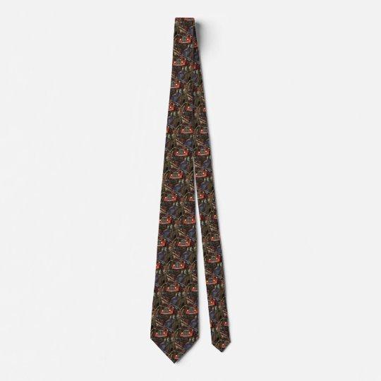 Vintages Geschäft, Bedruckte Krawatten