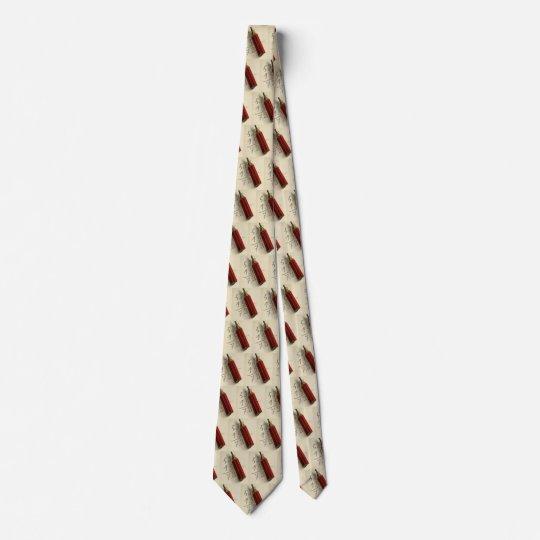 Vintages Geschäft, Mathe-Gleichung mit rotem Krawatte