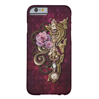 Vintages Girly Jeweled Mit Blumensteampunk Barely There iPhone 6 Hülle