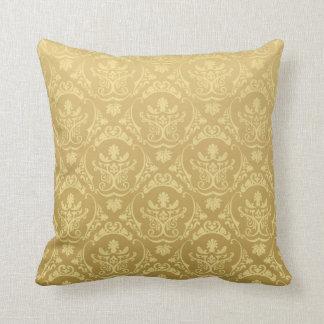 Vintages Gold Kissen
