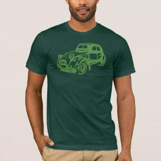 Vintages Grün Citroen 2CV T-Shirt