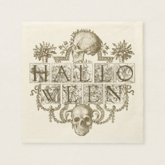 Vintages Halloween Papierservietten