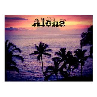 Vintages Hawaii Postkarten