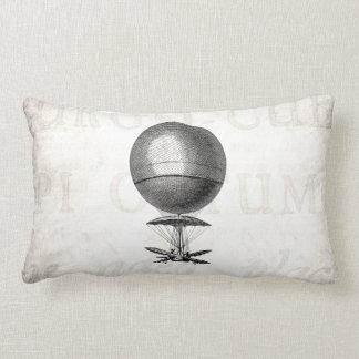 Vintages Heißluft-Ballon-Retro Luftschiff-alte Zierkissen
