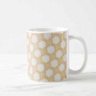 Vintages Hochzeits-Muster - fertigen Sie besonders Tasse