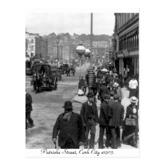 Vintages Irland, Patrick Straße, Korken 1903 Postkarte