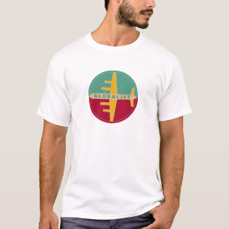 "Vintages Jet-Alters-T-Shirt ""GlobalJet "" T-Shirt"