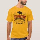 Vintages Kastanienbraun Yellowstone T-Shirt