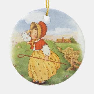 Vintages kleines BO lugen Keramik Ornament