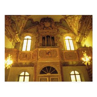 Vintages Korsika, Bastia, Kirche von St. Croix Postkarte