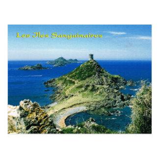 Vintages Korsika, les Iles Sanguinaires Postkarten