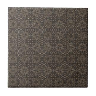 Vintages Kunst-Muster Kleine Quadratische Fliese