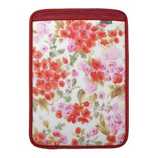 Vintages leichtes Blumen des entzückenden netten MacBook Air Sleeve