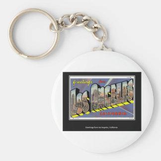Vintages Los Angeles Kalifornien Vintag Schlüsselanhänger