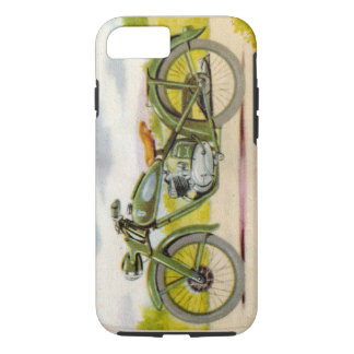 Vintages Motorrad iPhone 7 Hülle