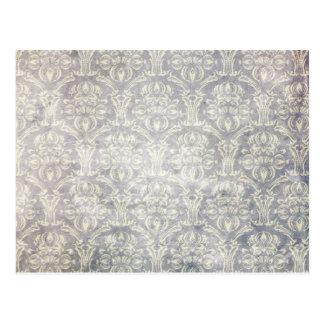 Vintages Muster - Bild 10 (Schwarzes u. Weiß) Postkarten