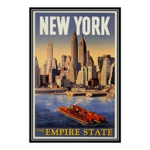 Vintages New York City, USA - Plakate