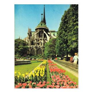 Vintages Paris, Paris Notre Dame, Ile de la Citie Postkarte