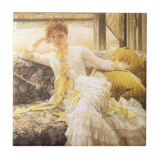 Vintages Porträt, Frühling (Küste) durch James Fliese