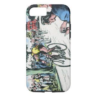 Vintages Radfahren iPhone 7 Hülle