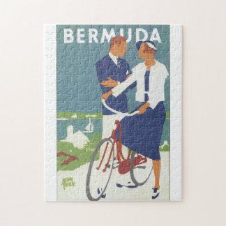 Vintages Reise-Plakat Bermudas