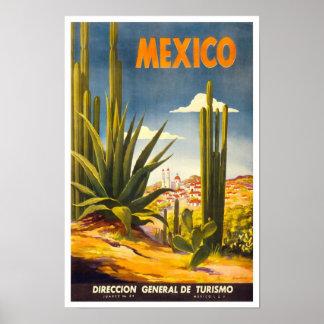 Vintages Reise-Plakat Mexiko 2 Poster