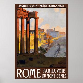 Vintages Reise-Plakat Roms Poster
