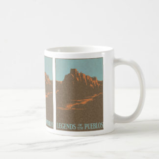 Vintages Reise-Plakat, Taos, New-Mexiko Kaffeetasse