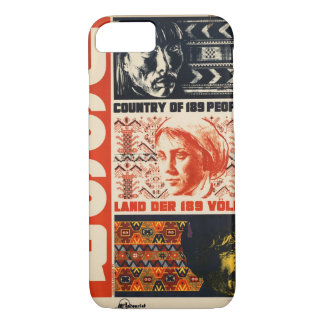 Vintages Reise-Plakat UDSSR Russland iPhone 8/7 Hülle