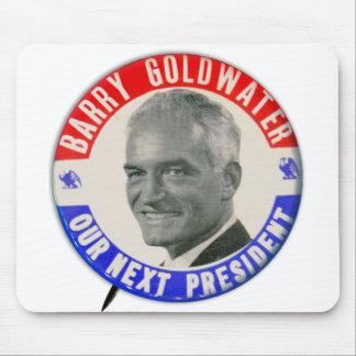 Vintages Retro Goldwater 1964 für Präsidenten Mousepads