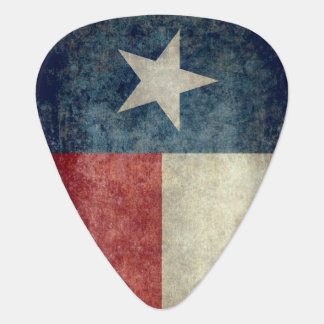 Vintages retro Plektrum Art der Texas-Staatsflagge