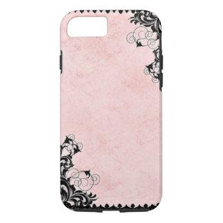 Vintages Rosa iPhone 7 Hülle