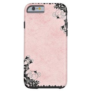 Vintages Rosa Tough iPhone 6 Hülle