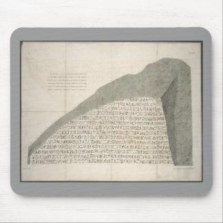 Vintages Rosetta Stein-Bild-cooles Bild 1810 Mauspad