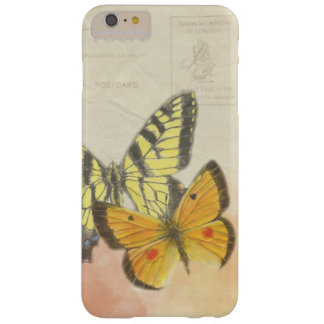 Vintages Schmetterling iPhone/iPad Fall Barely There iPhone 6 Plus Hülle