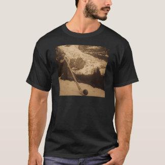 Vintages Schweizer Alphorn Gebläse T-Shirt