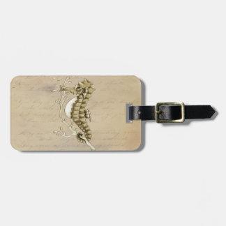 Vintages Seepferd Kofferanhänger