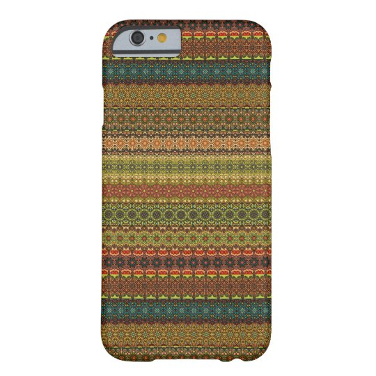 Vintages Stammes- aztekisches Muster Barely There iPhone 6 Hülle