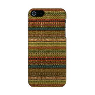 Vintages Stammes- aztekisches Muster Incipio Feather® Shine iPhone 5 Hülle