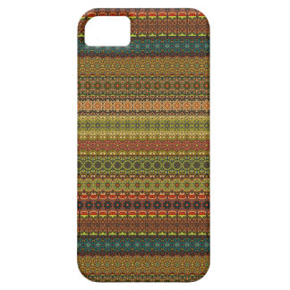 Vintages Stammes- aztekisches Muster iPhone 5 Cover