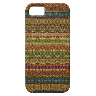 Vintages Stammes- aztekisches Muster iPhone 5 Etuis