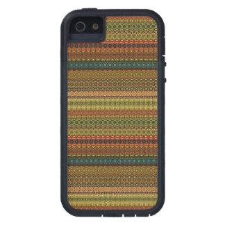 Vintages Stammes- aztekisches Muster iPhone 5 Schutzhüllen