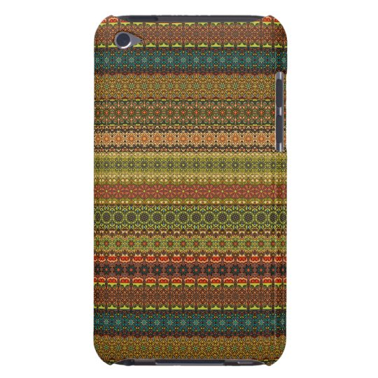 Vintages Stammes- aztekisches Muster iPod Touch Cover
