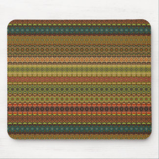 Vintages Stammes- aztekisches Muster Mousepads