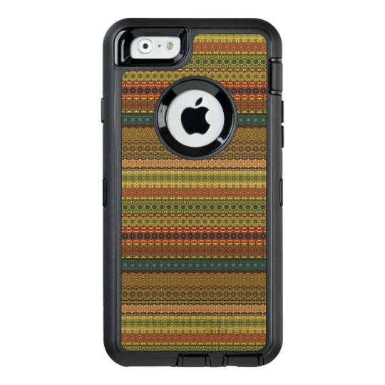 Vintages Stammes- aztekisches Muster OtterBox iPhone 6/6s Hülle