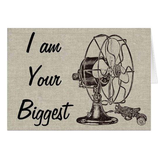 Vintages Steampunk bin ich Ihr größter Fan Karte