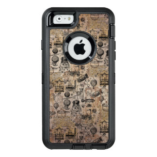 Vintages Steampunk OtterBox iPhone 6/6s Hülle