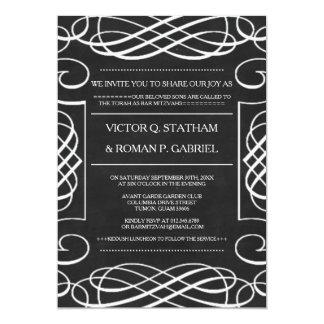 Vintages Tafel-Bar Mitzvah lädt ein 12,7 X 17,8 Cm Einladungskarte