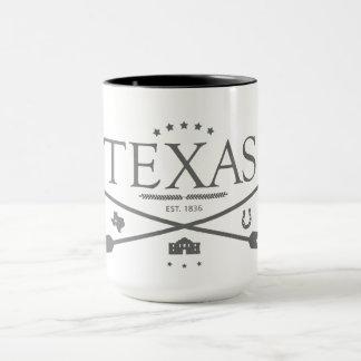Vintages Texas Est. 1836 Pfeil-Kaffee-Tasse Tasse