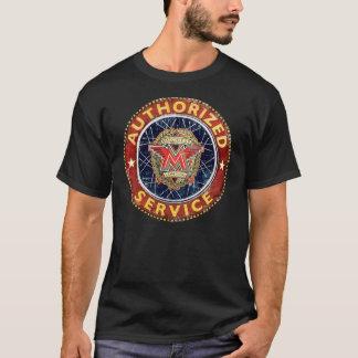 Vintages unvergleichliches Motorradservice-Zeichen T-Shirt